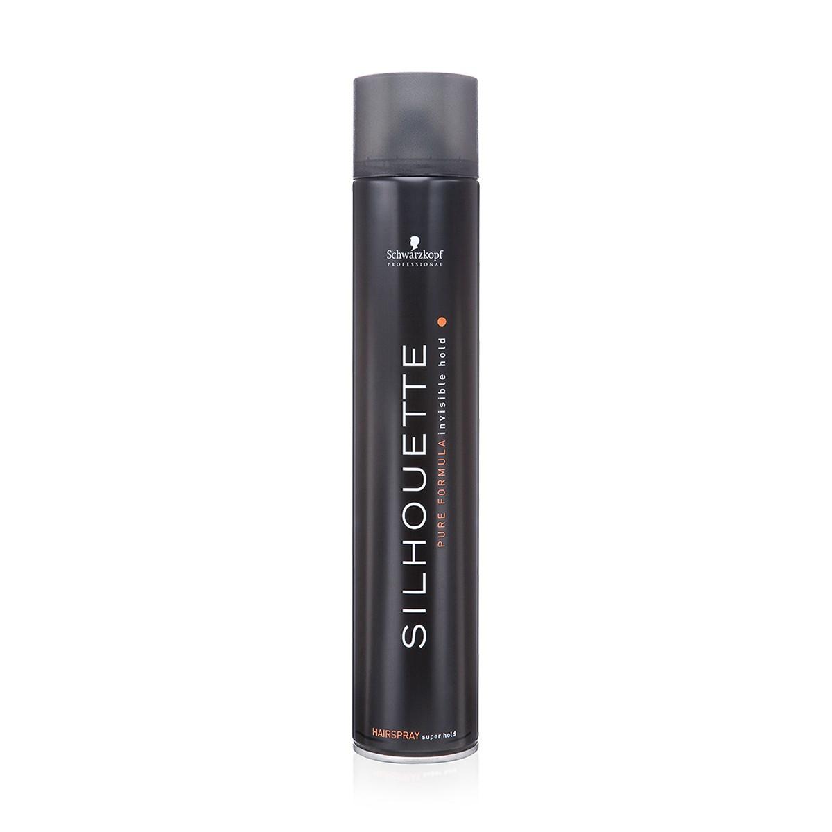 SCHWARZKOPF Silhouette Schwarz 750ml - Bardzo mocno utrwalający lakier do włosów