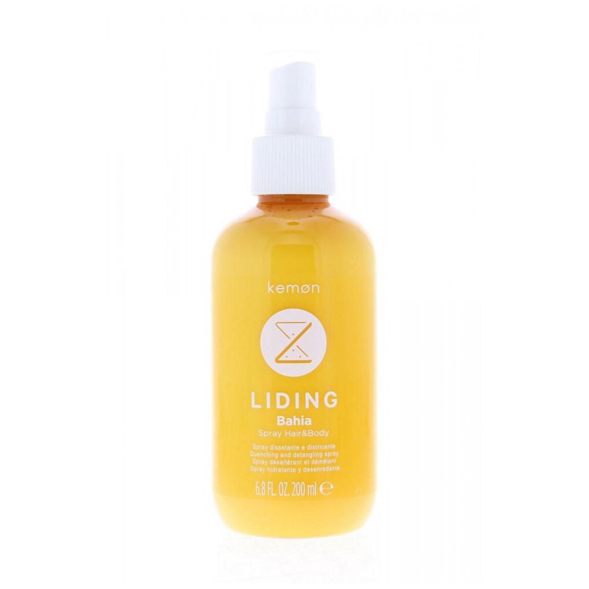 KEMON Liding Bahia Hair & Body Spray 200ml - Spray nawilżający, ułatwiający rozczesywanie