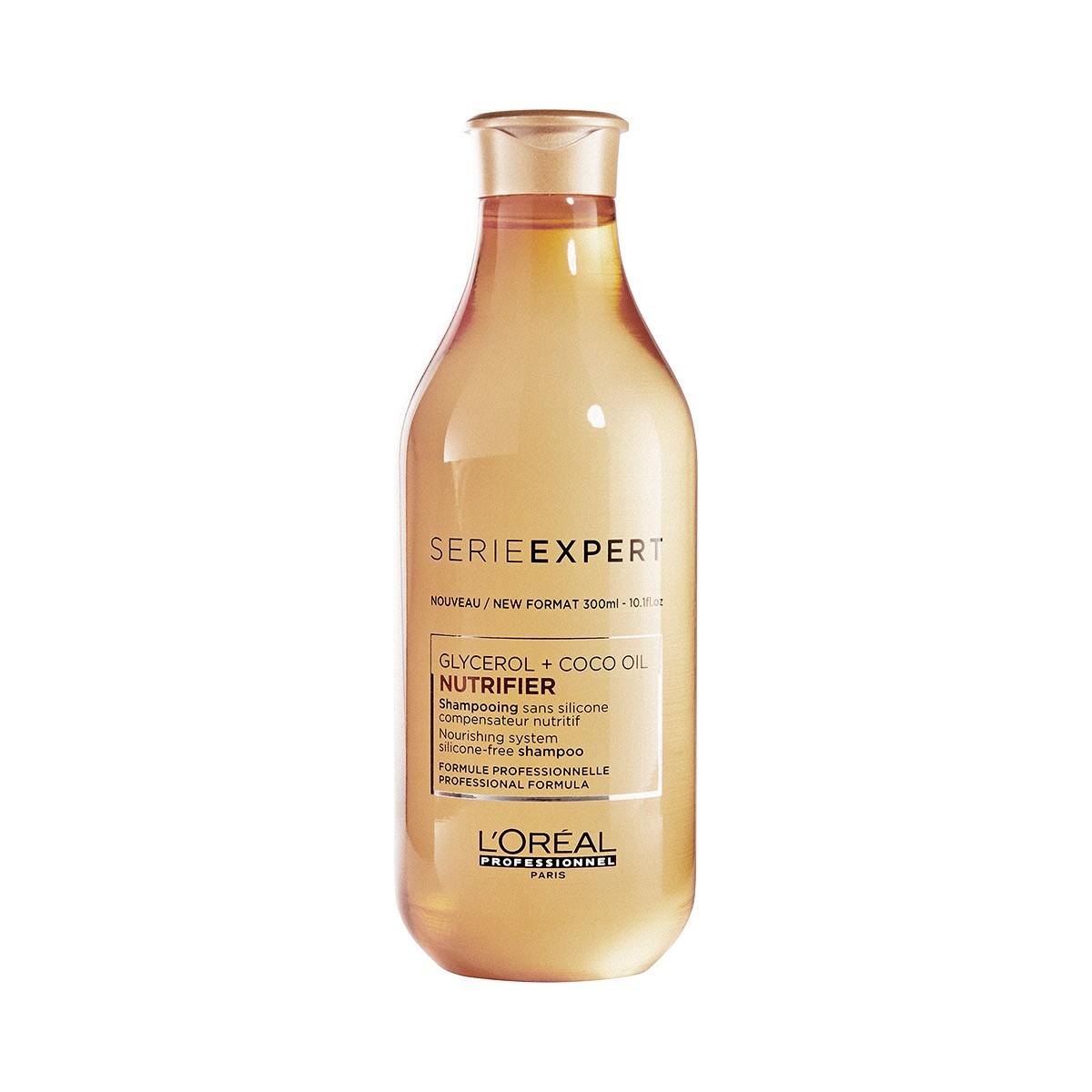 LOREAL Nutrifier Glycerol + Coco Oil Shampoo 300ml - Rewitalizujący szampon do włosów