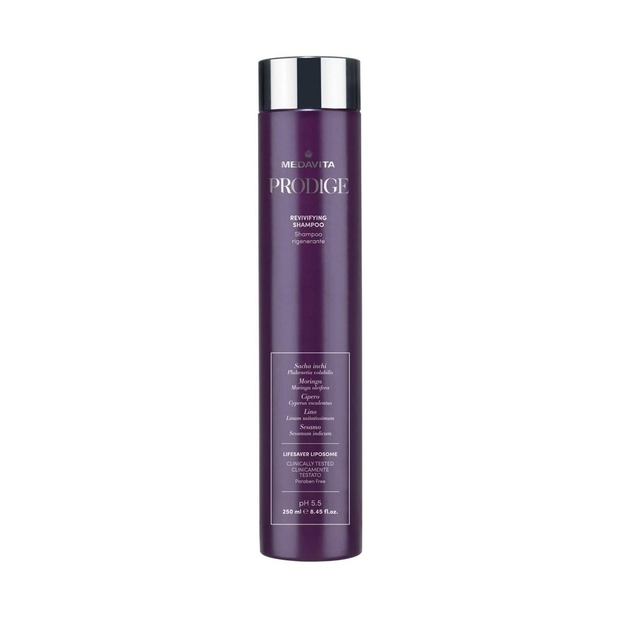 MEDAVITA Prodige Revivifying Shampoo 250ml - Szampon do włosów zniszczonych natychmiastowo odbudowujący i regenerujący