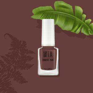 MIA COSMETICS Luxury Nudes Mocha 9-Free 11ml - Wegański lakier do paznokci
