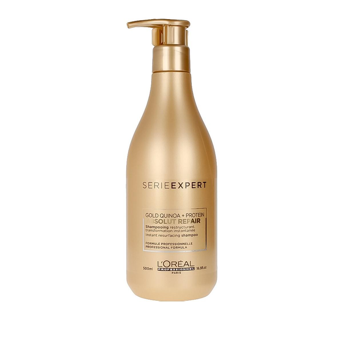 LOREAL Absolut Repair Gold Shampoo 500ml - Szampon regenerujący