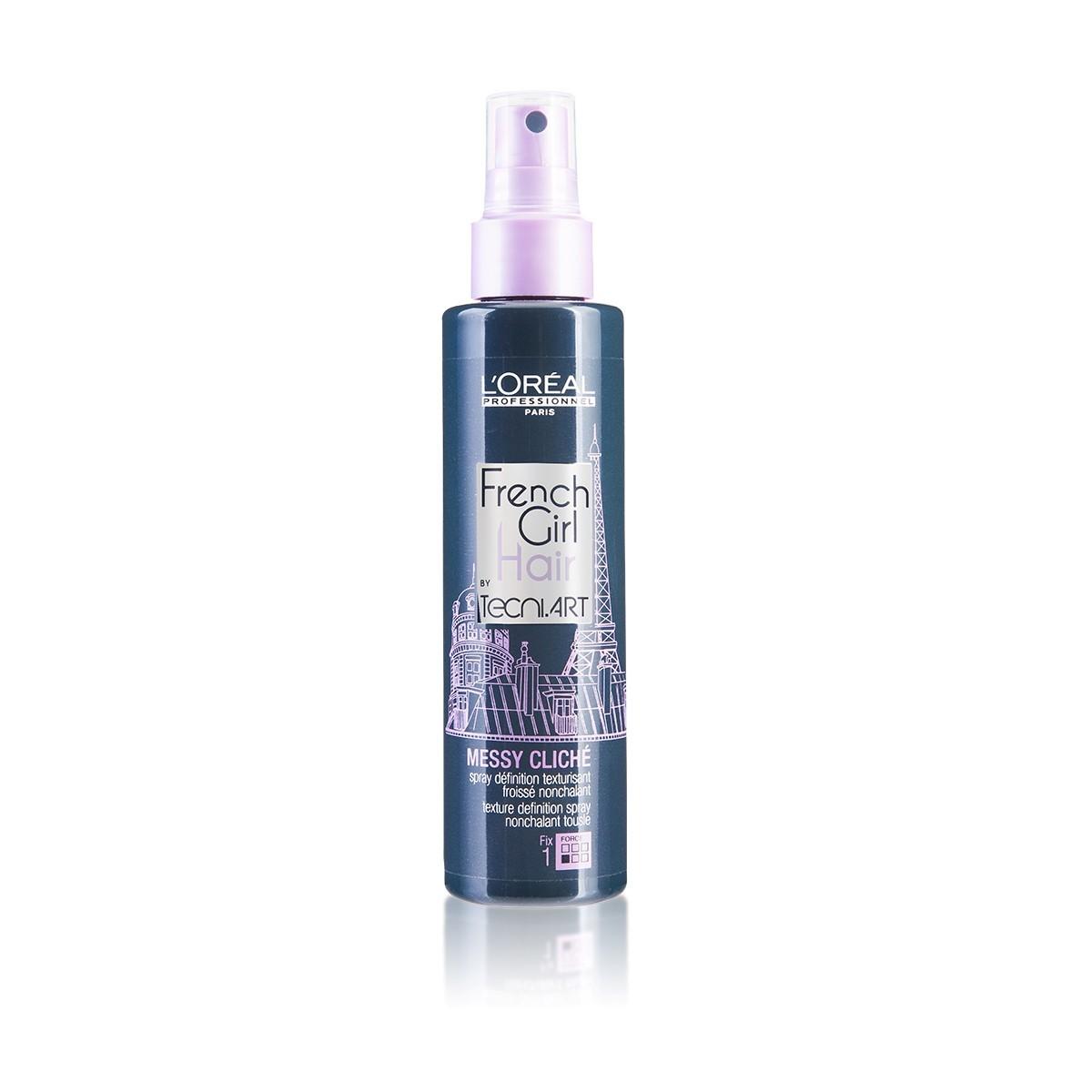 LOREAL French Girl Hair by Tecni Art Messy Cliche 150ml - Teksturyzujący spray do włosów