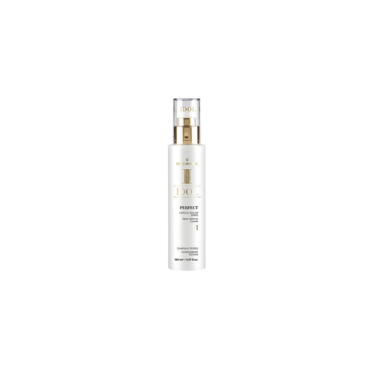 MEDAVITA Idol Perfect Cuticle Sealer Spray 150ml - Spray do włosów uszczelniający włókna