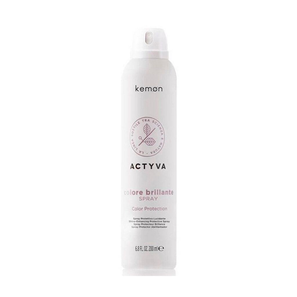 KEMON Actyva Colore Brillante Spray 200ml - Spray chroniący kolor do włosów farbowanych