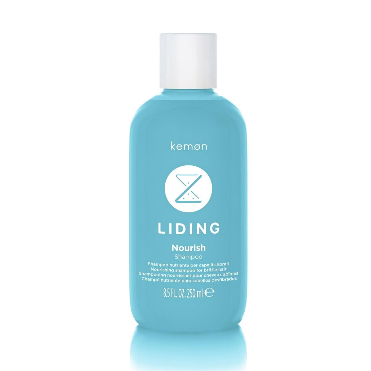 KEMON Liding Nourish Shampoo 250ml - Szampon odżywiający włosy