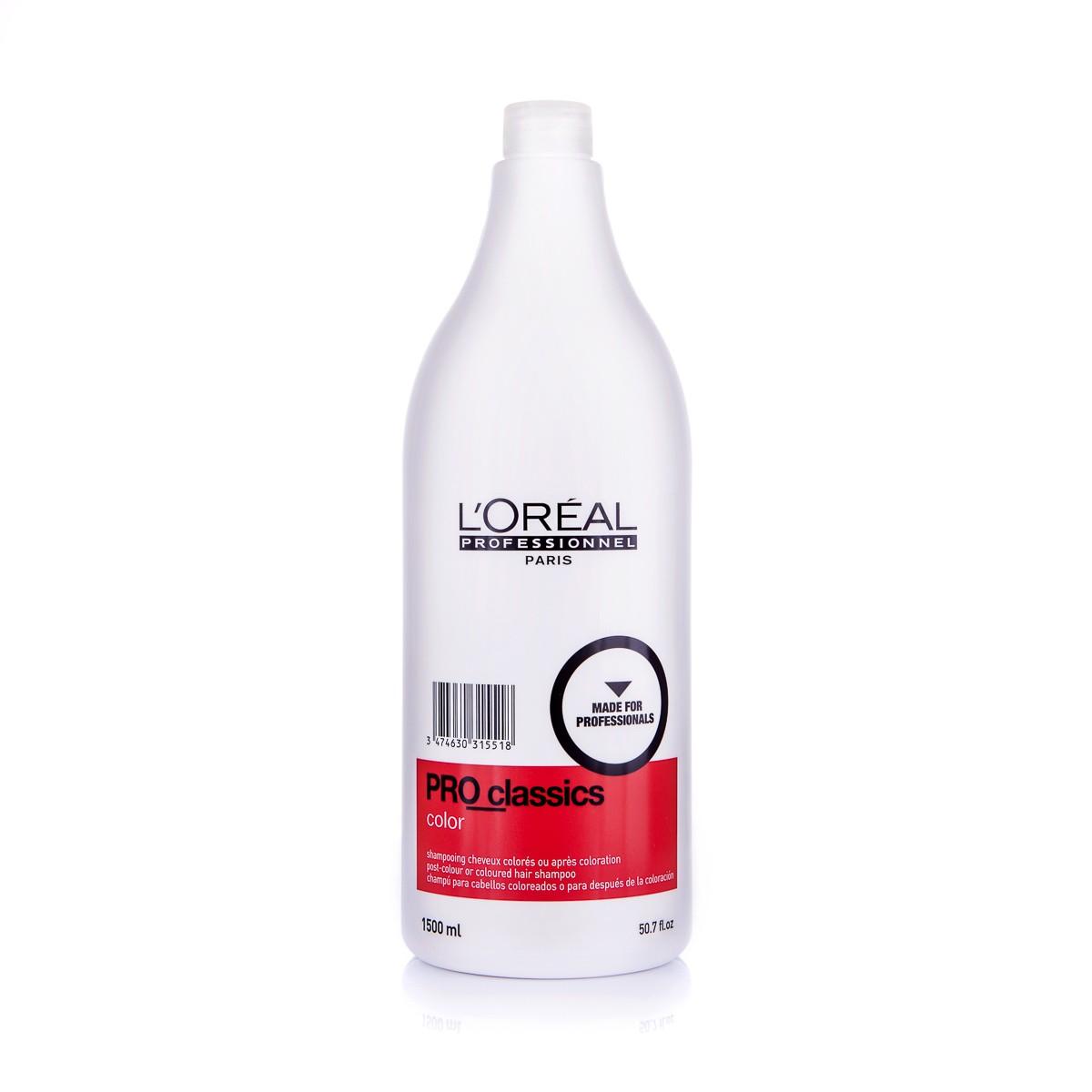 LOREAL Pro Classics Color Shampoo 1500ml - Szampon do włosów farbowanych lub po zabiegu koloryzacji
