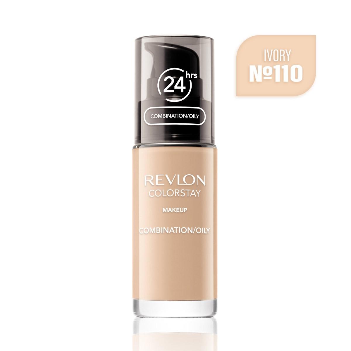 REVLON ColorStay Makeup OILY 110 Ivory 30ml - Podkład do cery tłustej i mieszanej