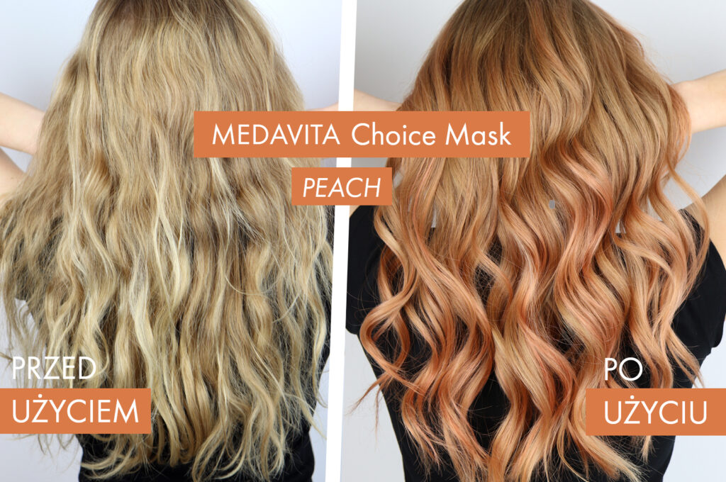 Porównanie: przed i po farbowaniu