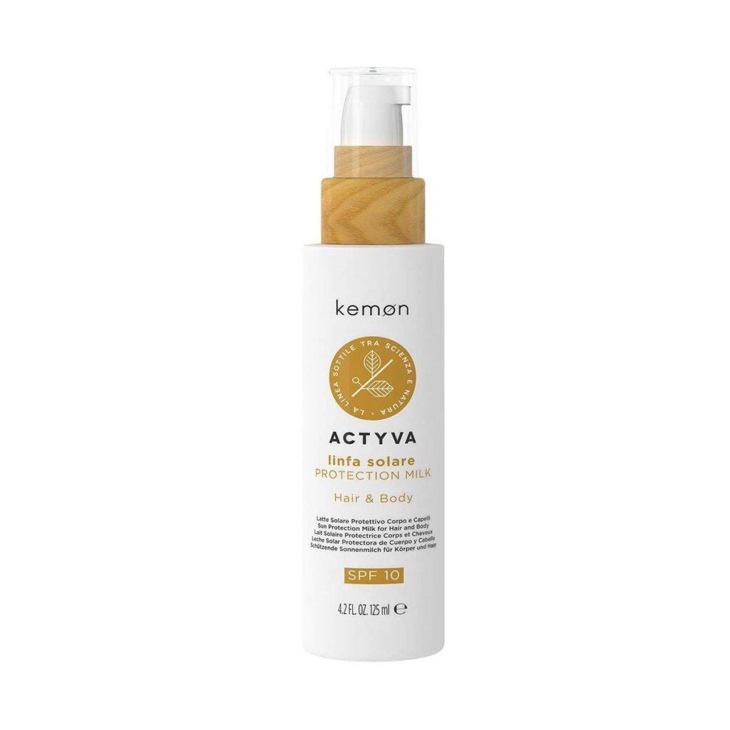 KEMON Actyva Linfa Solare Protection Milk 125ml - Mleczko ochronne do włosów i ciała