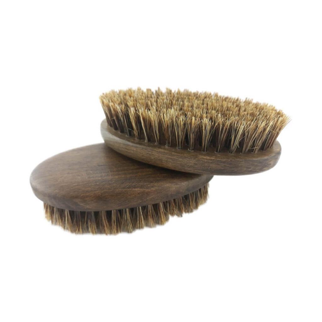 BEA BELEZA Szczotka do brody (duża) orzech włosie dzika
