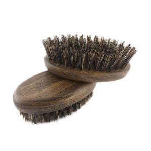 BEA BELEZA Szczotka do brody (mała) orzech ze wzmocnionym włosiem dzika