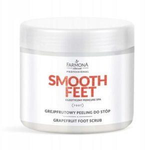 FARMONA Smooth Feet 690g - Grejpfrutowy peeling do stóp