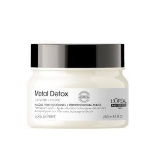 LOREAL SE Metal Detox Mask 250ml - Maska neutralizująca metale do stosowania po farbowaniu