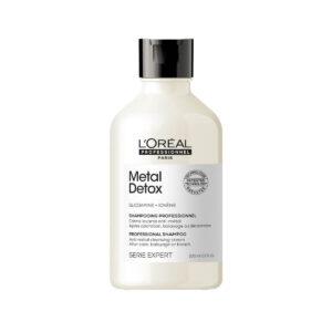 nowa linia produktów loreal detox metal szampon LOREAL SE Metal Detox Shampoo 300ml - Szampon po farbowaniu, neutralizujący metale