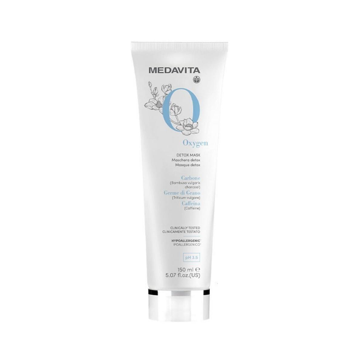 MEDAVITA Oxygen Detox Mask 150ml - Maska detoksykująca, oczyszczająca do każdego rodzaju włosów
