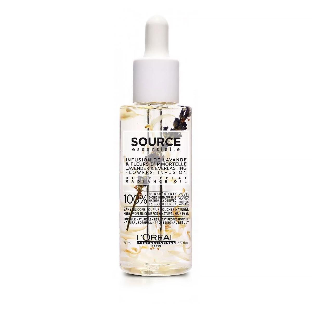 L'OREAL Source Nourishing Oil 70ml - Olejek do włosów suchych i uwrażliwionych